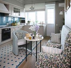 диван на кухне