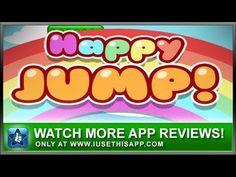 Happy Jump iPhone App - Best iPhone App - App Reviews #iphone #apps #appreviews #IUTA