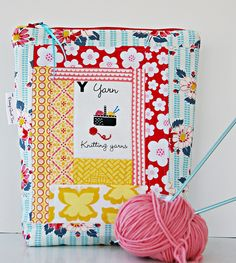 Knitting Project Bag by During Quiet Time (Amy), via Flickr