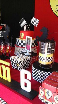 Ferrari  Birthday Party Ideas   Photo 10 of 14