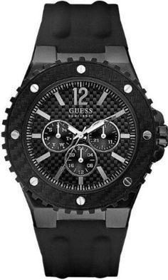 Men's Wrist Watches - GUESS U12654G1 Masculine Sport  Carbon Fiber ** You can get additional details at the image link. (This is an Amazon affiliate link)