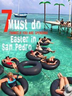 Give a New Spin to your Easter Break in San Pedro. #SpringBreak #AmbergrisCaye #Belize