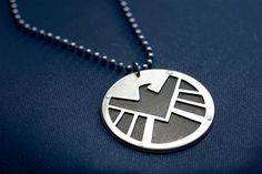 Marvel Avengers Agents of S.H.I.E.L.D. pendant by FanFlail on Etsy, $45.00