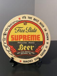Free State, Beer Coasters, Best Beer, Brewery