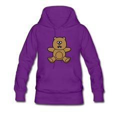 Sweat-shirt à capuche Teddy Bear Kawaii mignon #cloth #cute #kids# #funny #hipster #nerd #geek #awesome #gift #shop Thanks.