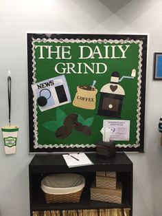 Coffeehouse themed classroom
