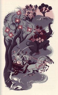 Joan Kiddell-Monroe, Russian Tales and Legends - beautiful.