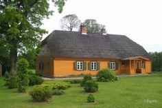 "Viļa Plūdoņa memoriālā māja ""Lejenieki"" Cabin, House Styles, Home Decor, Decoration Home, Room Decor, Cabins, Cottage, Interior Design, Home Interiors"