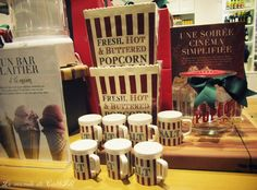 Popcorn essentiels from Williams-Sonoma Popcorn, Stage Set, Williams Sonoma, Where The Heart Is, Pretty Pictures, Cute Pics, Air Popped Popcorn, Cute Photos
