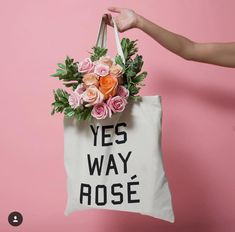 Our signature canvas toté is what started it all. What better way is there to profess your love for Rosé? The Yes Way Rose Tote is super soft and sturdy. Yes Way Rose, Love Rose, Adult Birthday Party, Birthday Weekend, 40th Birthday, Rose Quotes, Wine And Cheese Party, Wine Display, Rose Shop