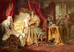 Benczúr Gyula II, Rákóczi Ferenc elfogása a nagysárosi várban. 1869