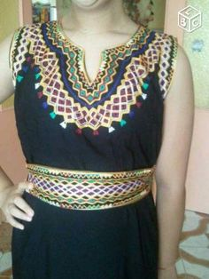 Robe pour maison kabyle for Maison kabyle moderne
