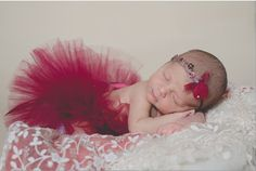 Royal Berry Tutu Set... We use only the softest tulle when making our skirts, perfect for your newborn princess. What could be more perfect