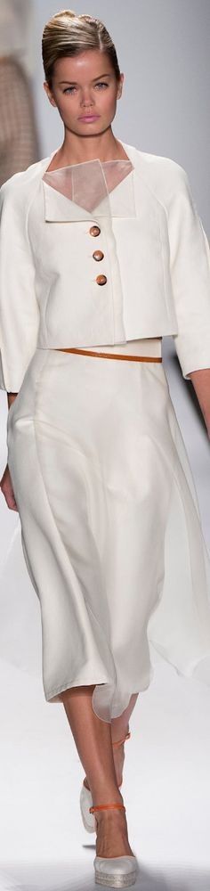 LOOKandLOVEwithLOLO: NYFW 2014 SPRING RTW featuring ESCADA and CAROLINA HERRERA