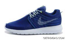 f093ecc2cc36 Mens Nike Roshe Run Dyn Fw Blue White Shoes On TopDeals