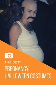 The best funny Pregnancy Halloween costume ideas. From hiding your pregnancy to decorating your pregnant belly in the third trimester, we have DIY and store-bought costumes for you! Pregnancy Costumes, Pregnant Halloween Costumes, Pregnancy Humor, First Pregnancy, Pregnancy Test, Halloween Kostüm, Pregnancy Blogs, Pregnancy Drawing, Pregnancy Belly