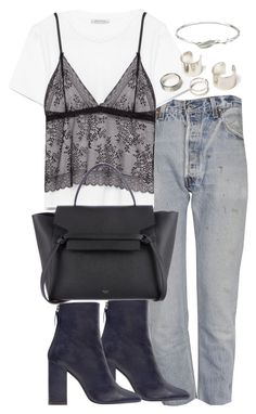 """Untitled #2648"" by theeuropeancloset on Polyvore featuring RE/DONE, Zara and Collette Waudby"
