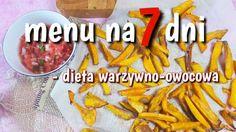 Menu tygodniowe – dieta warzywno-owocowa – tydzień 1