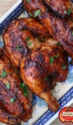 This Oven Baked BBQ Chicken Recipe is Outta The Park! | Outta the Park BBQ Sauce