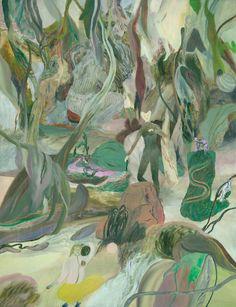 Sofia Arnold: Lukewarm's Hangout - oil on canvas