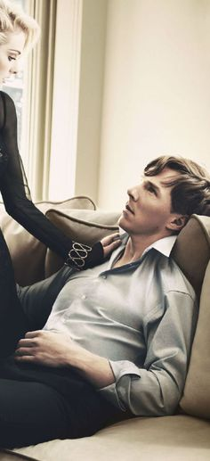 BenedictCumberbatch.....I only find him attractive in certain situations (like the entire Star Trek movie), but this picutre is hot, hot ,hot!!!!!