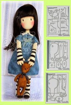 rag doll pattern ...Nims....