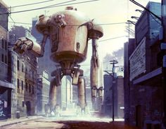Greg Broadmore, concept art