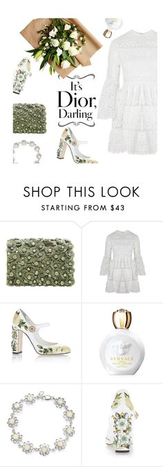 """""""just be a queen"""" by modernbovary ❤ liked on Polyvore featuring Marchesa, Alexis, Dolce&Gabbana, Versace and Bling Jewelry"""