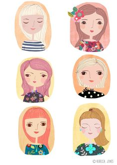 Rebecca Jones - Girl Characters