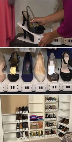 Shoe Slotz Organizers | Easy Shoe Storage Ideas for Small Spaces | Space Saving Shoe Organization Ideas