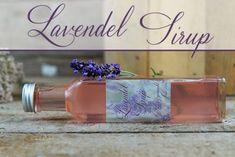 Lavendelsirup selber machen Voss Bottle, Water Bottle, Kraut, Diy Food, Food And Drink, Drinks, Tasty, Wellness, Blog