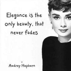 Audrey Hepburn #quote #love love her!