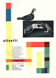 Giovanni Pintori, 1954.
