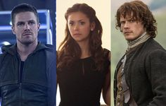 Best. Ever. TV. Awards 2015: The Fans Have Spoken and the Winners Are...  Stephen Amell, Arrow, Nina Dobrev, The Vampire Diaries, Sam Heughan, Outlander