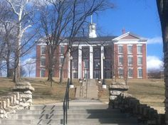 William Jewell College, Liberty, MO. Oh, I've climbed those steps!