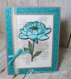 "Stamp & Scrap with Frenchie: Beautiful Cards ""Happy Mail"" You've Got this, timeless texture"