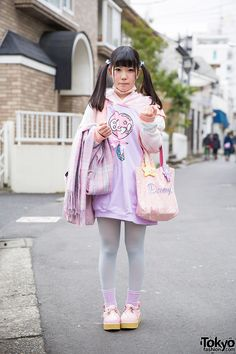 super cute. pastel colors ... Chinatsu, 18 years old, student   31 March 2015