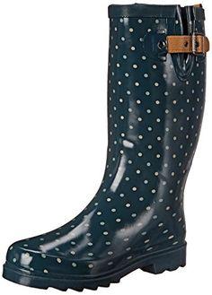 High Wellington Boots, Bottes et Bottines de Pluie Femme, Orange (Orange Ror), 38 EUHunter