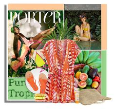 """""""Tropical Summer"""" by milva-bg ❤ liked on Polyvore"""