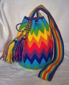 szydełkowe torby worki - wzory, wzory toreb szydełkowych, crochet bags patterns, crochet wayuu bags patterns, mochila crochet, wayuu crochet patterns