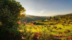 Tuscany. Region in Italy.