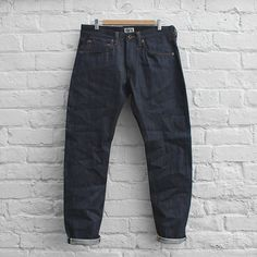 Edwin Jeans ED-55 White Listed Indigo Denim
