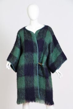 1960s Bonnie Cashin Mohair Jacket