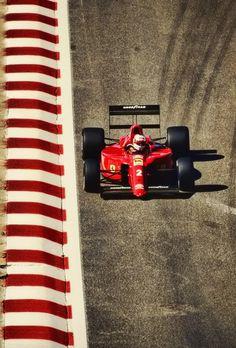 Nigel Mansell - Ferrari 1990