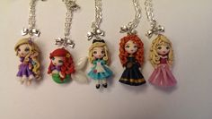 Principesse Disney in fimo