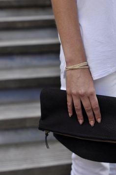 * Pochette en cuir pliable * #pochette #cuir #leather #madeinfrance #lesdesinvoltes