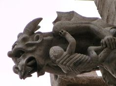 Gargoyle in Llotja Valencia-Spain. by xiscobernal