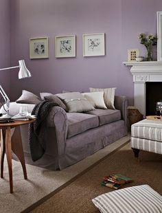 Purple greys