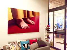 Admittedly we wow'd ourselves a bit on this one. What do you think? #nyc #loft #modern #cigarette #print