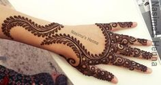 Fancy But Simple Henna Designs